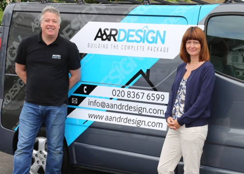 Robert and Allison of A &R Design