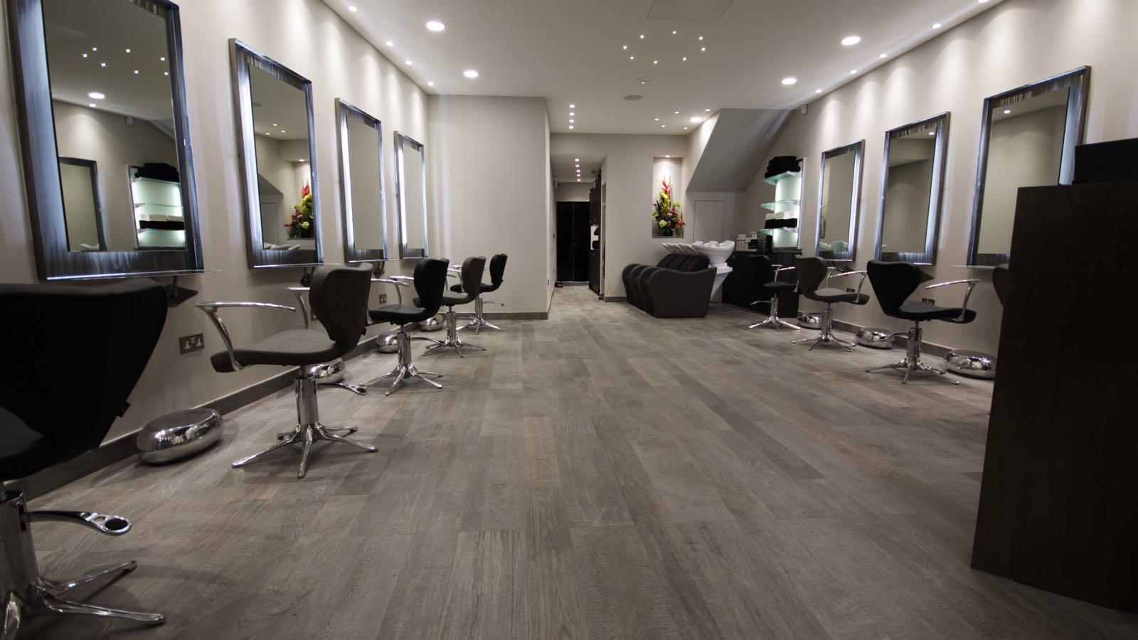 Finished salon
