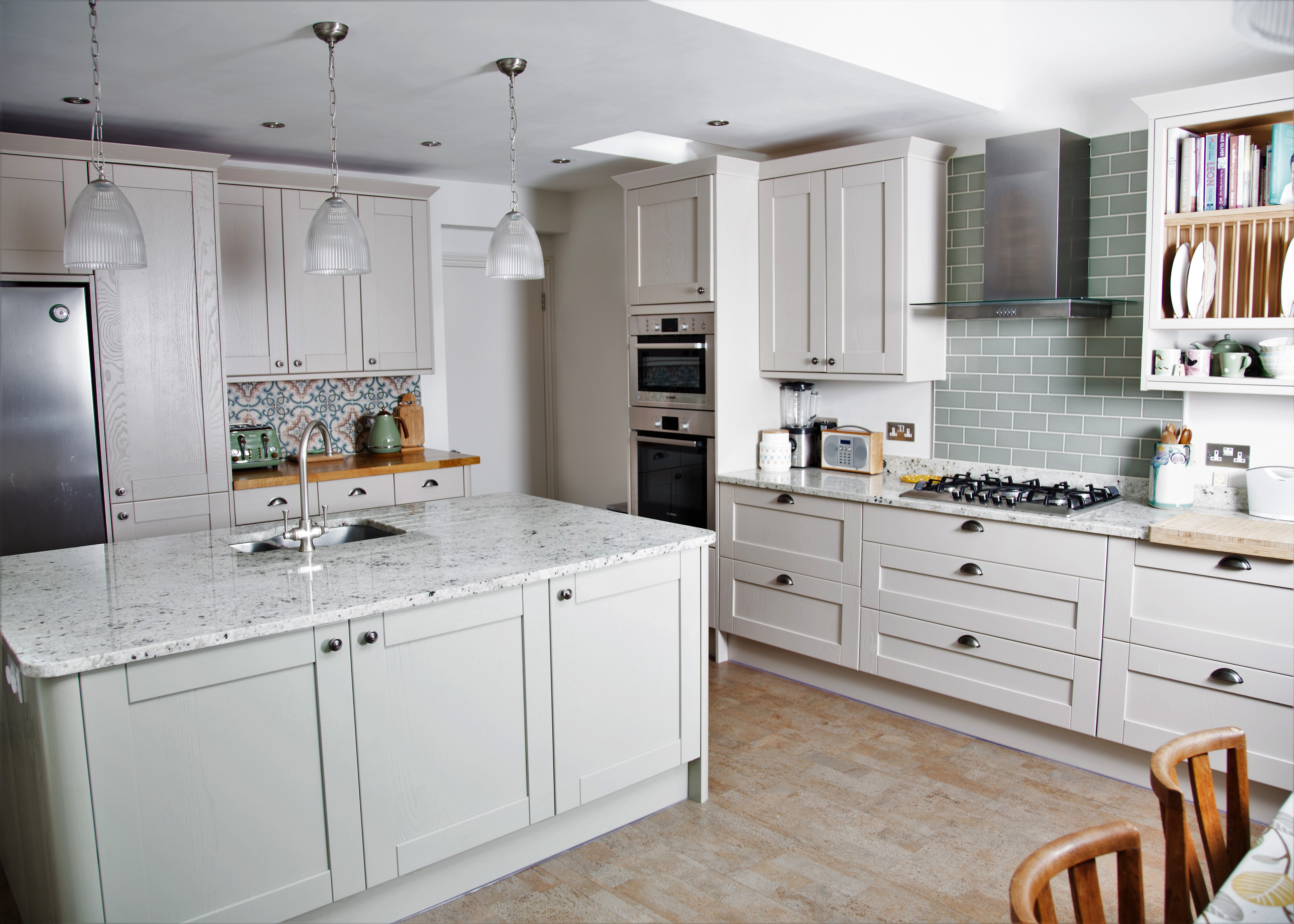Using colour in kitchens - A + R Design