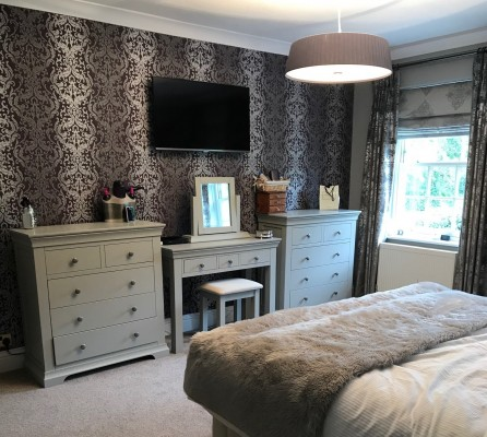 Arkley feature wall